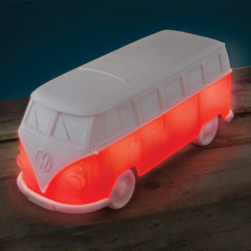 VW-bus med hyggelys