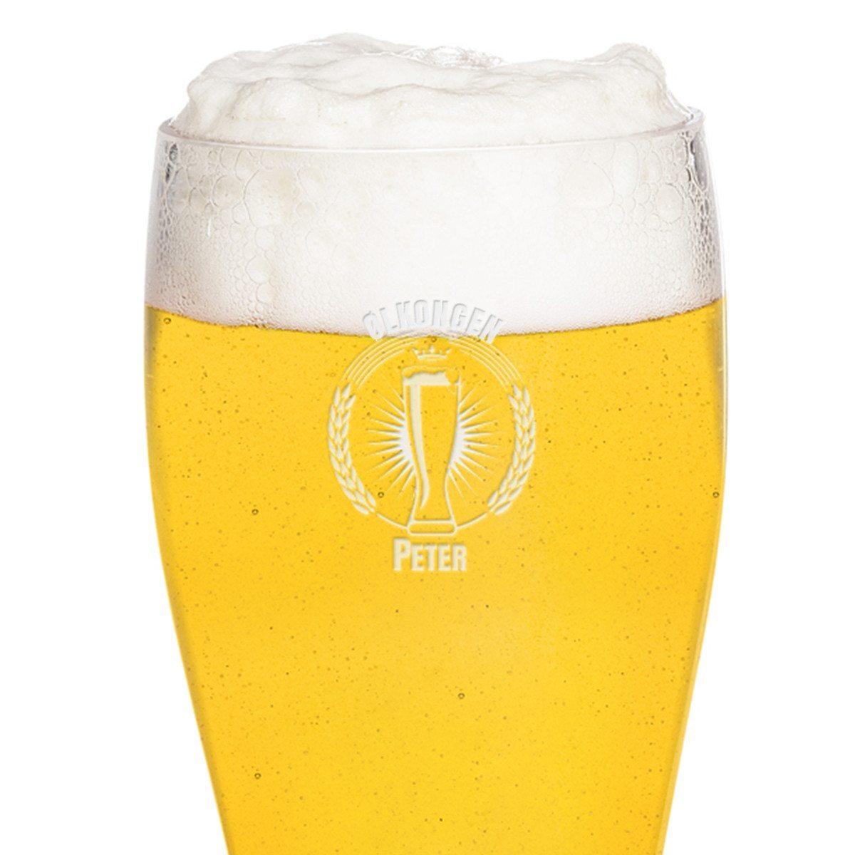 XXL ølstøvle med indgravering