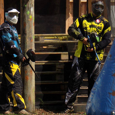 2 timers paintball - inkl. 200 kugler - Tørring