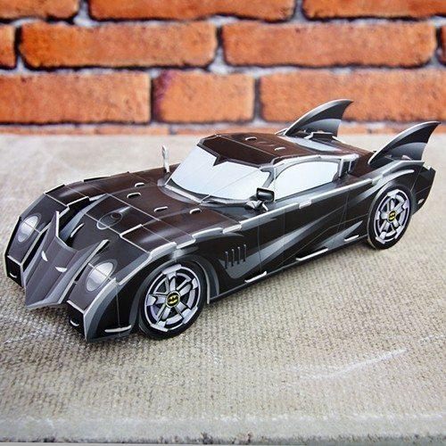 3D-Batmobil som puslespil