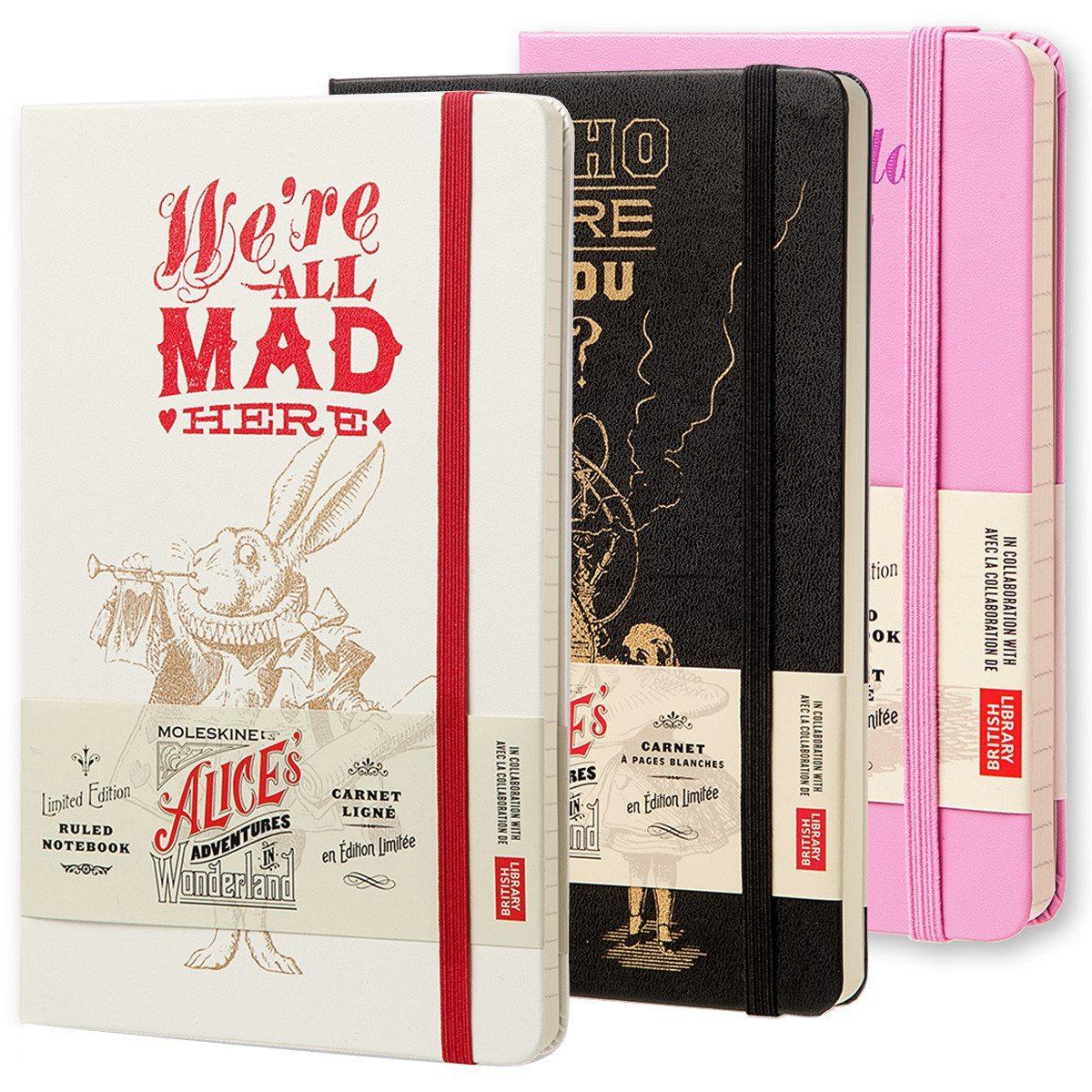 Alice i Eventyrland - notesbøger