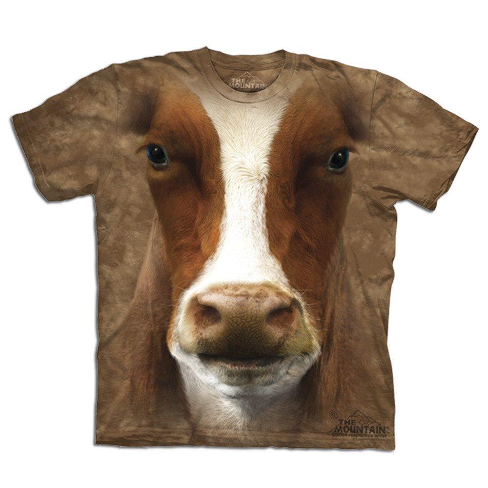 Big Face T-shirt med kotryk