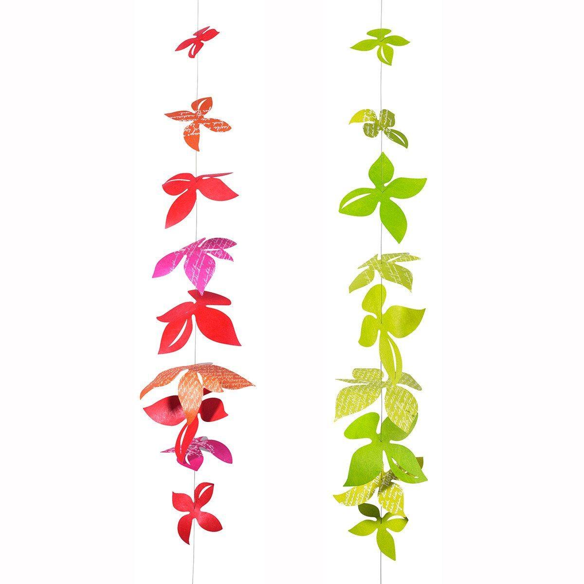 Blomster-guirlande