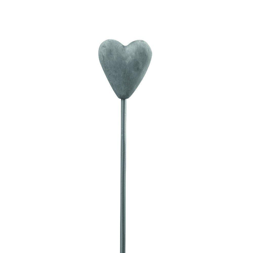 Blomsterpind med et hjerte i toppen