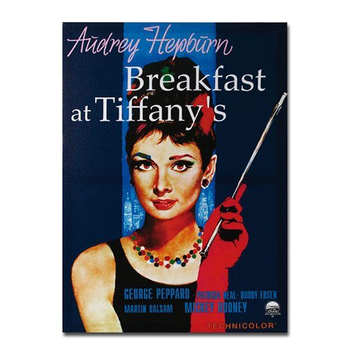 Breakfast at Tiffany's-canvasbillede