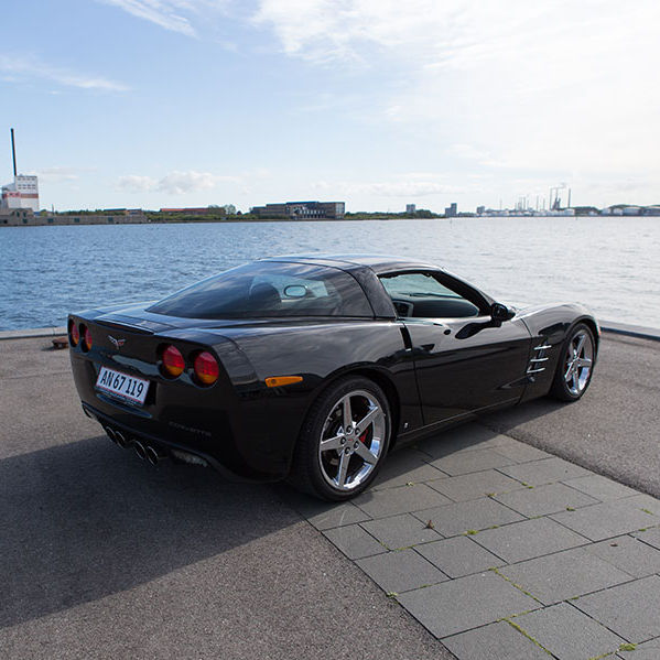 Bryllupskørsel i Corvette C6 (kør selv) for 2 personer - Aalborg