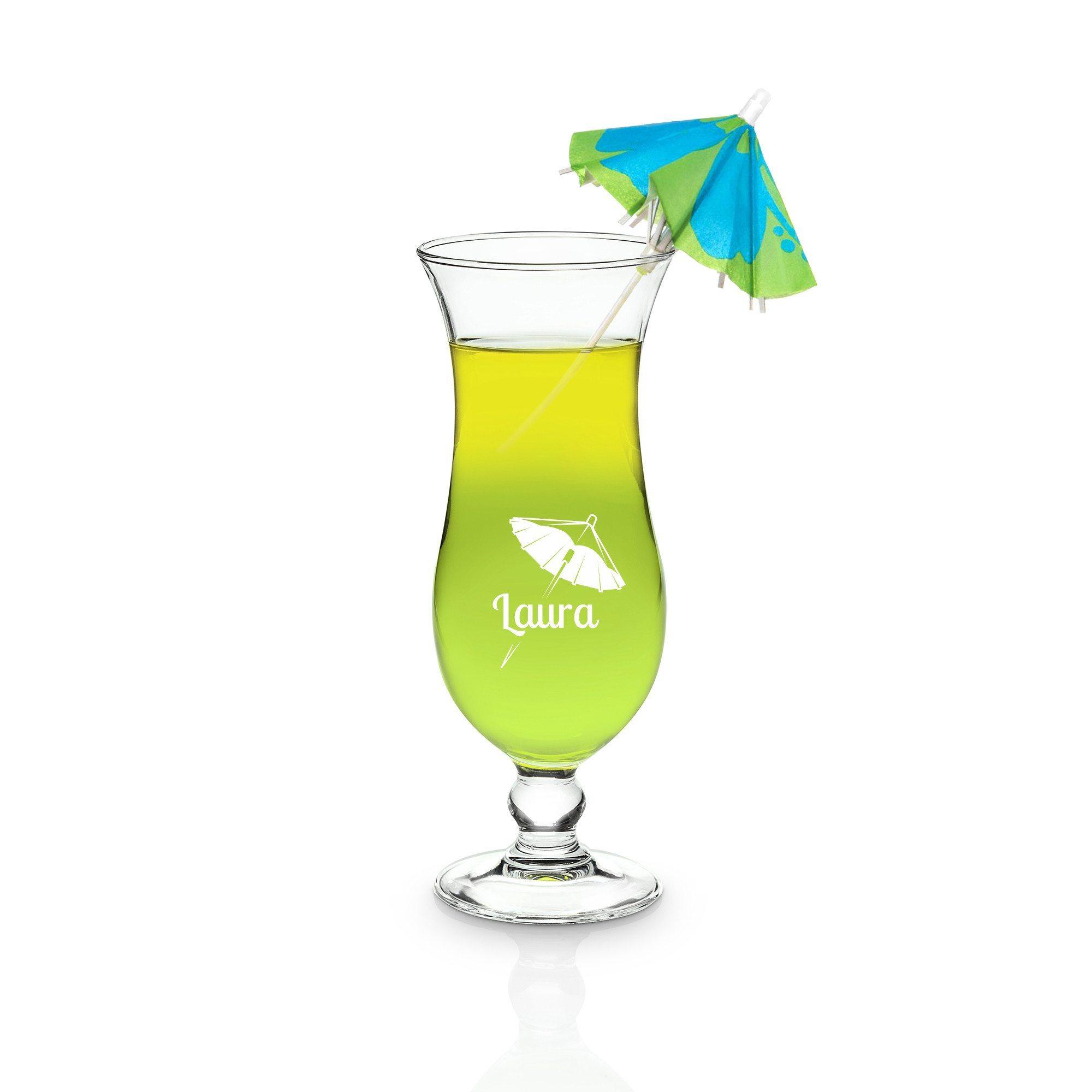 Cocktail-glas med indgravering