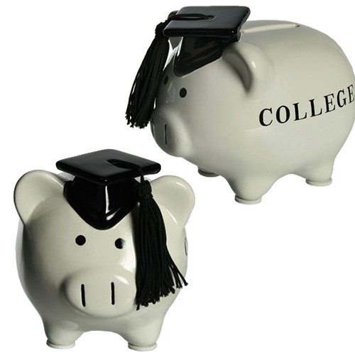 College-opsparing - sparegris