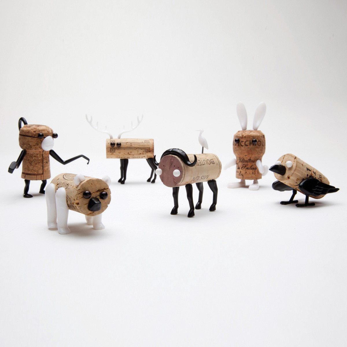 Corkers - DIY-korkdyr