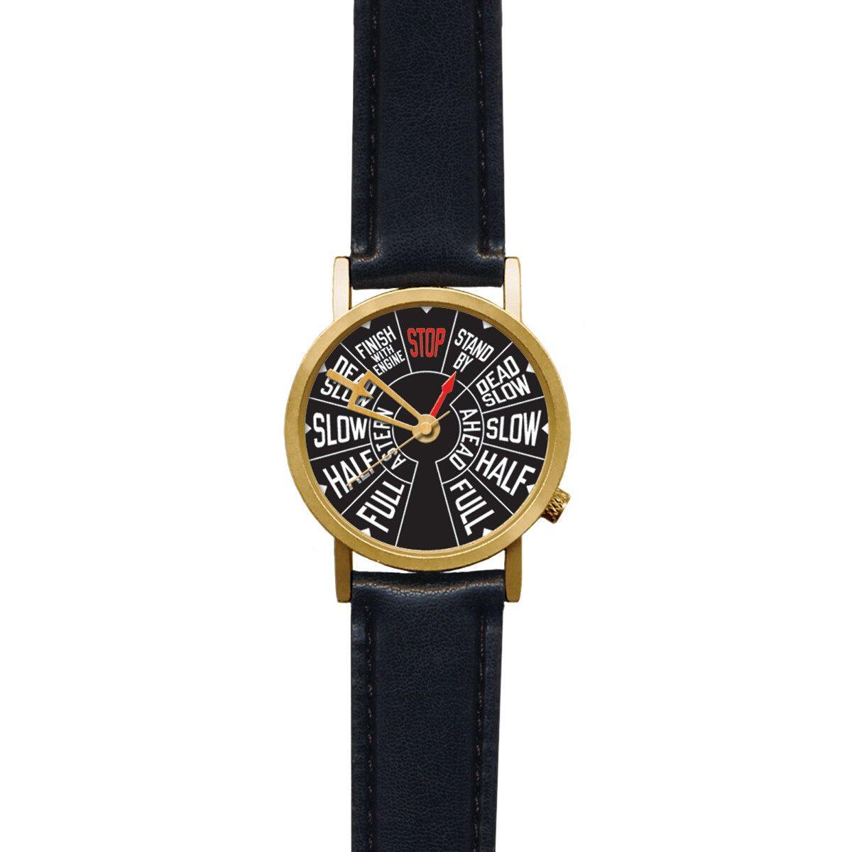Dampskibs-inspireret armbåndsur