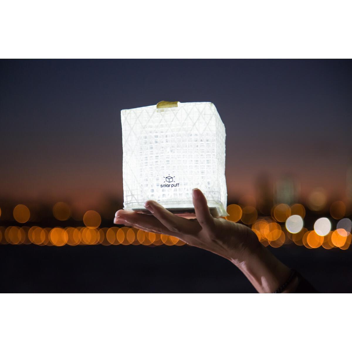 Design-Solarleuchte für den guten Zweck