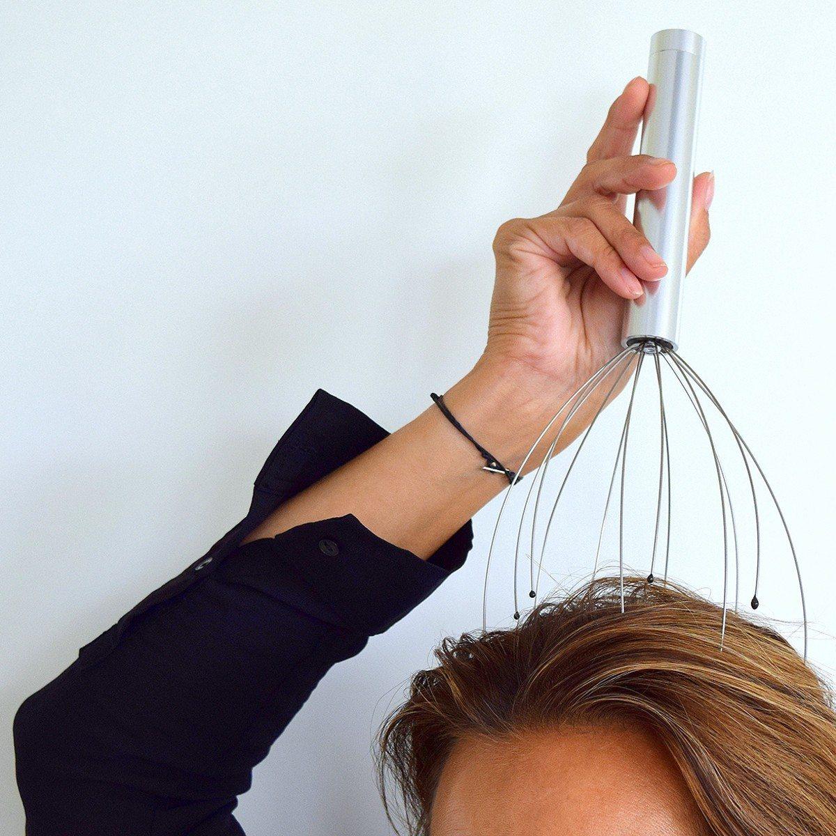 Elektrisk hovedbundsmassage