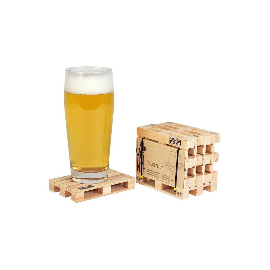 Europaller - 4 stk. ølbrikker