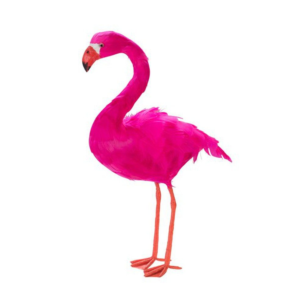 Farvestrålende flamingo