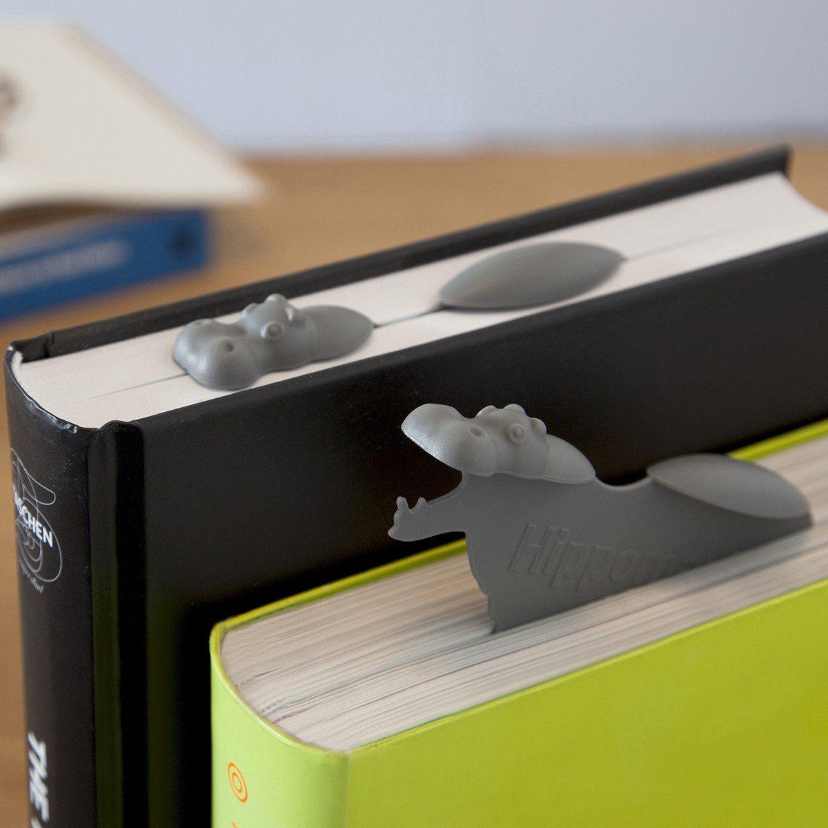 Flodhesteformet bogmærke