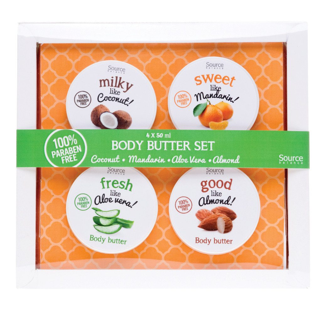 Gavesæt: 4 stk. body butter