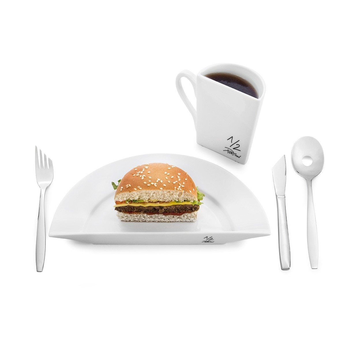Halv portion-service