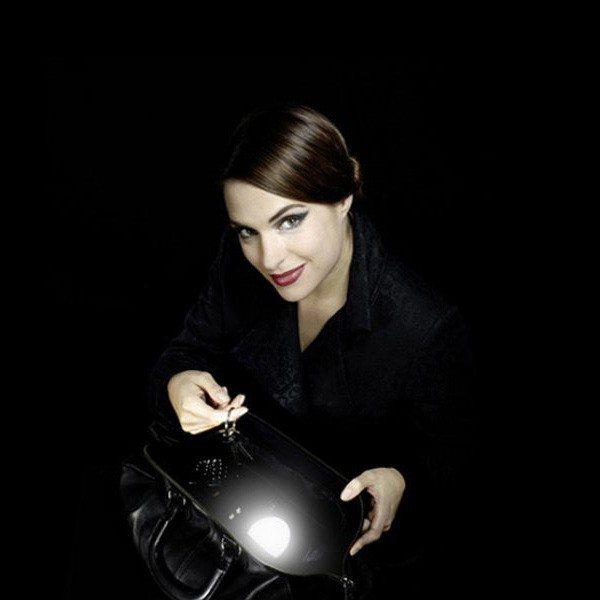 Håndtaskelampe med LED-lys
