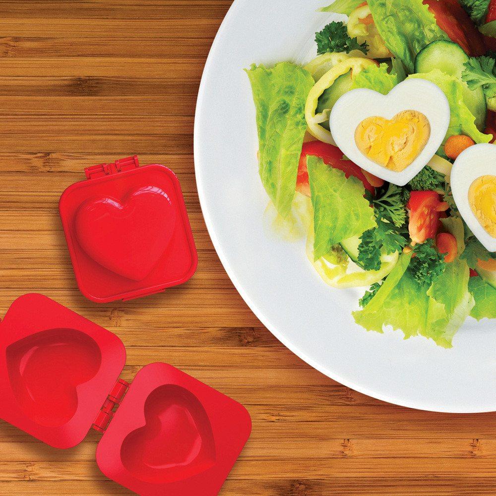 Hjerteformet æggeform