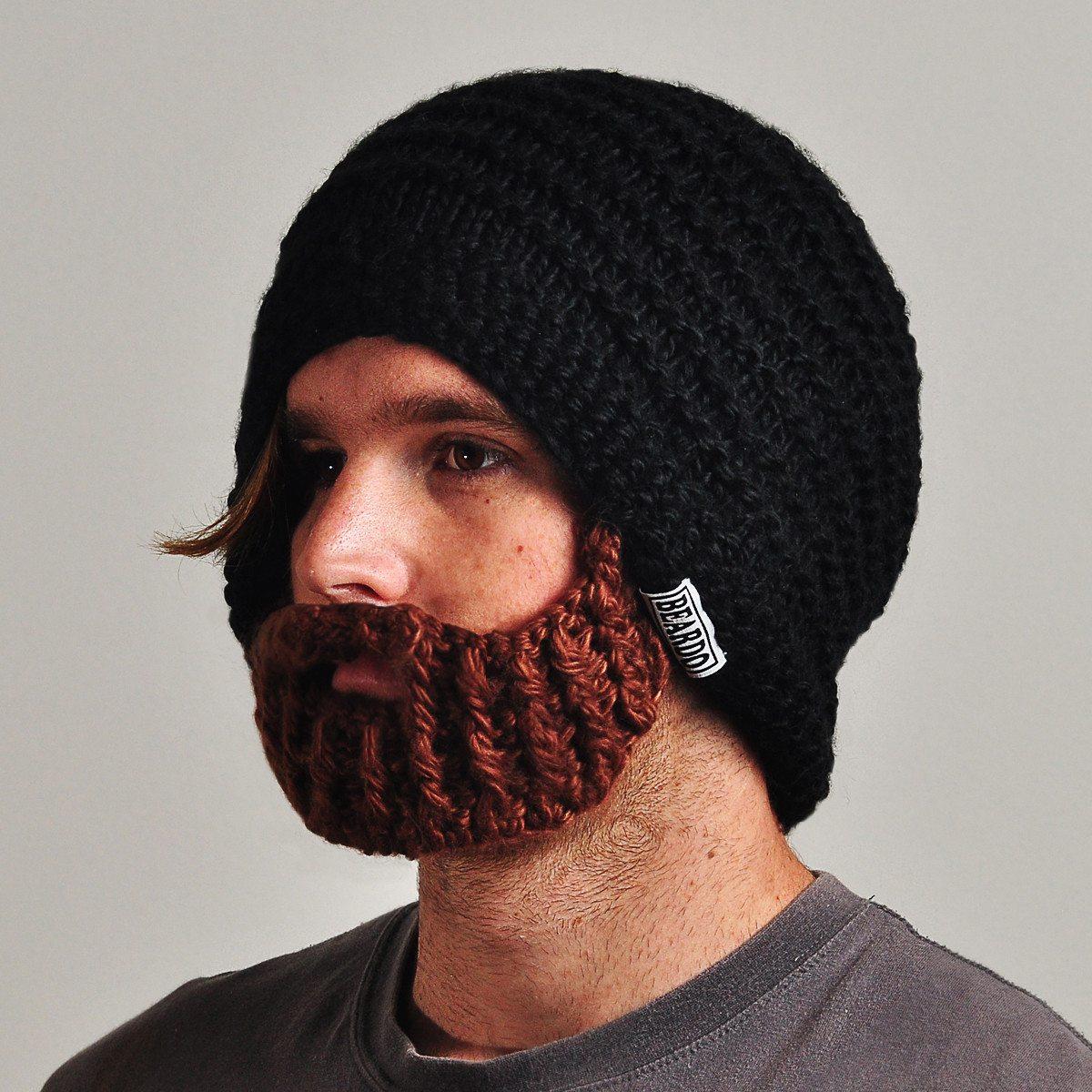 Hue med skæg