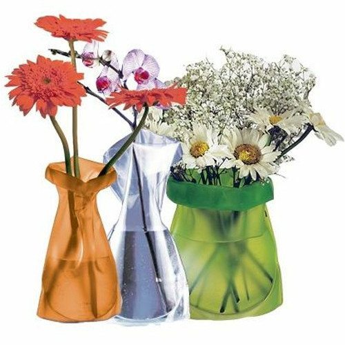 Le Sack - blomstervase i papirposelook