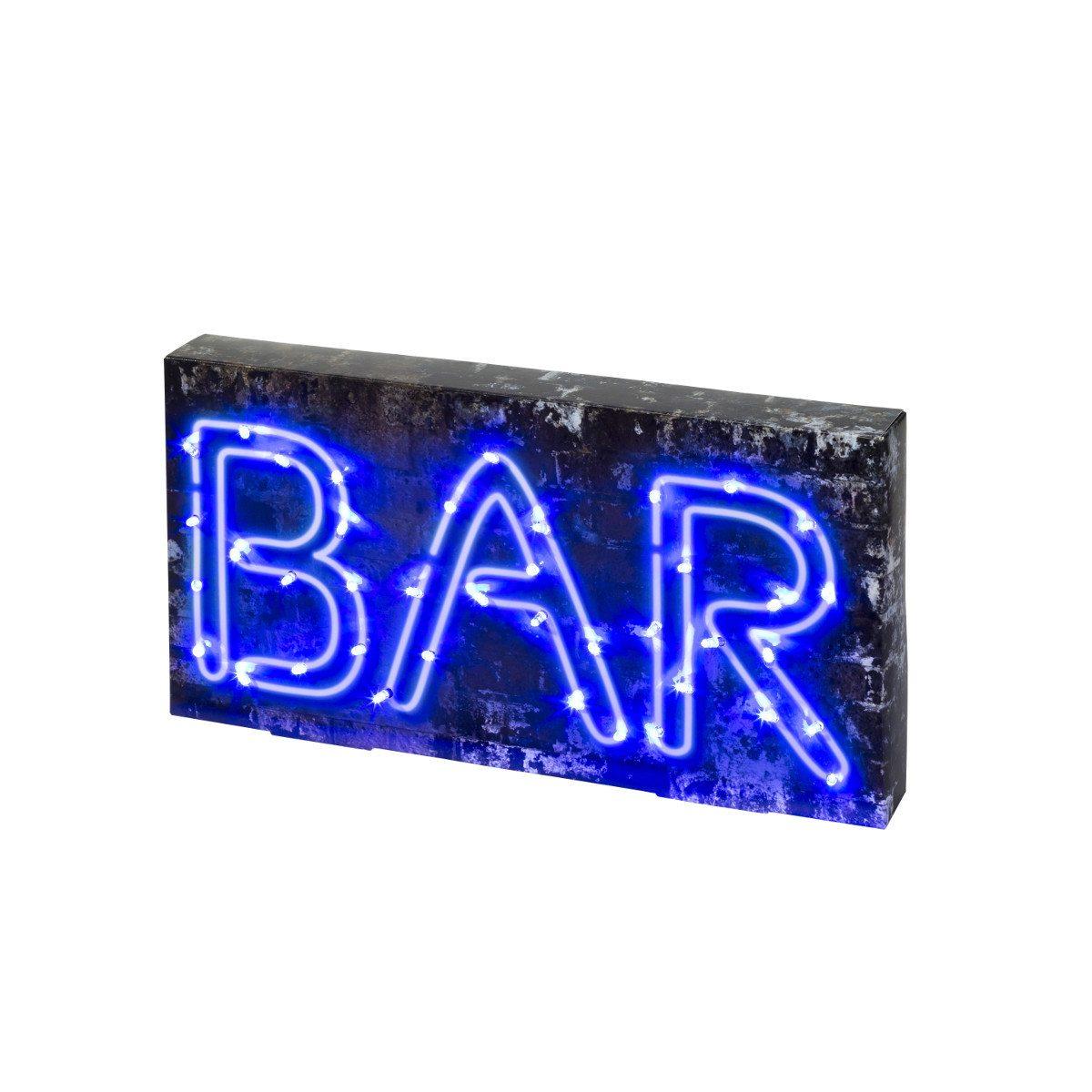 LED barskilt