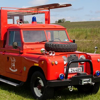 Limousinekørsel i minibrandbil for op til 8 personer - Storkøbenhavn