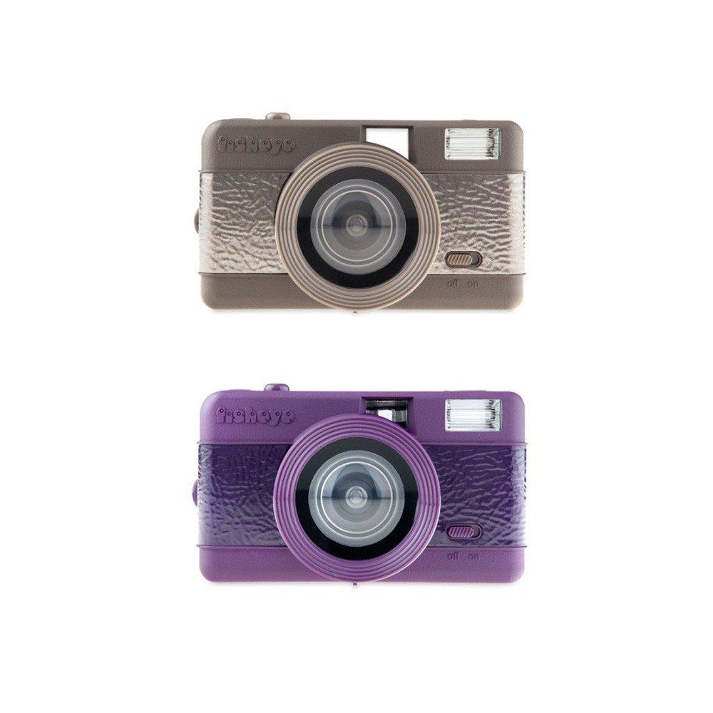 Lomo-kamera med fish eye-objektiv