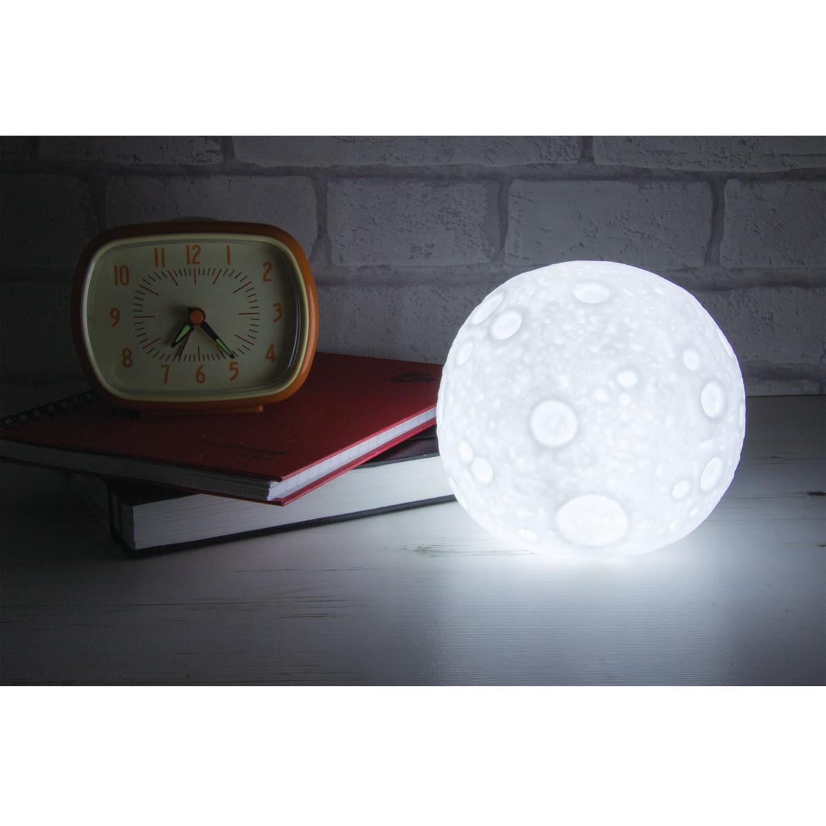 Måne - lysende bordlampe