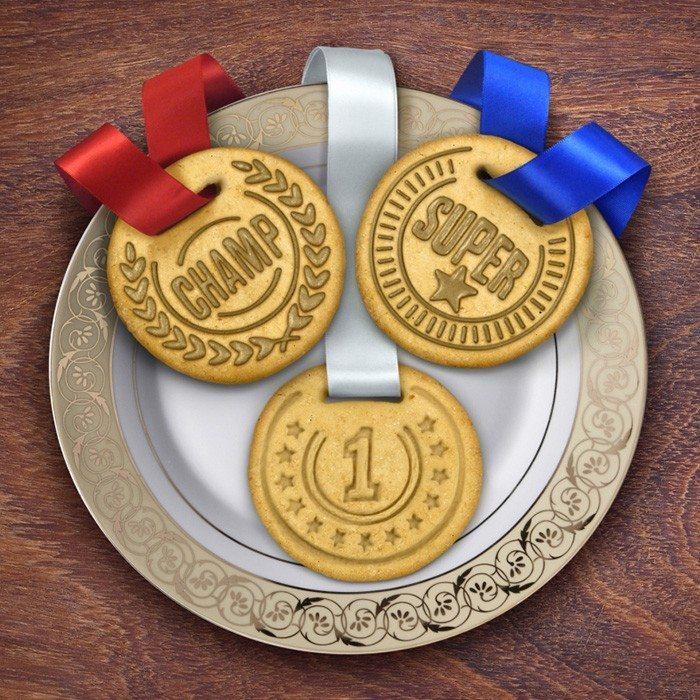 Medaljeformet kiks