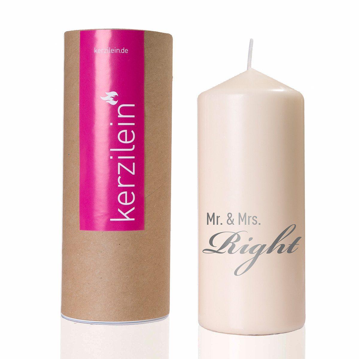 Mr. & Mrs. Right - stearinlys