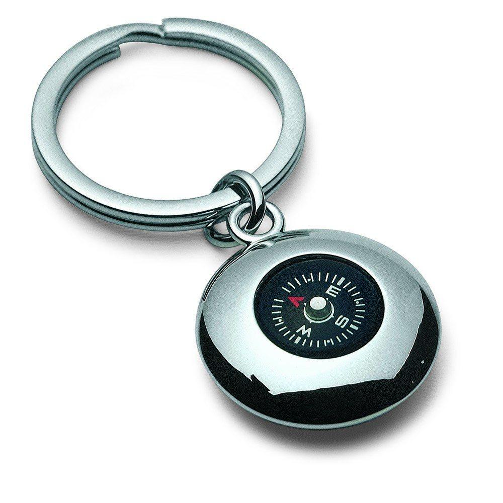 Nøglering med kompas