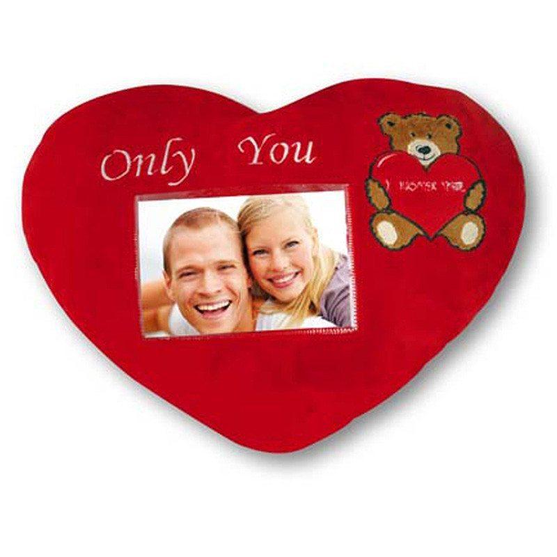 Only You - hjerteformet fotopude