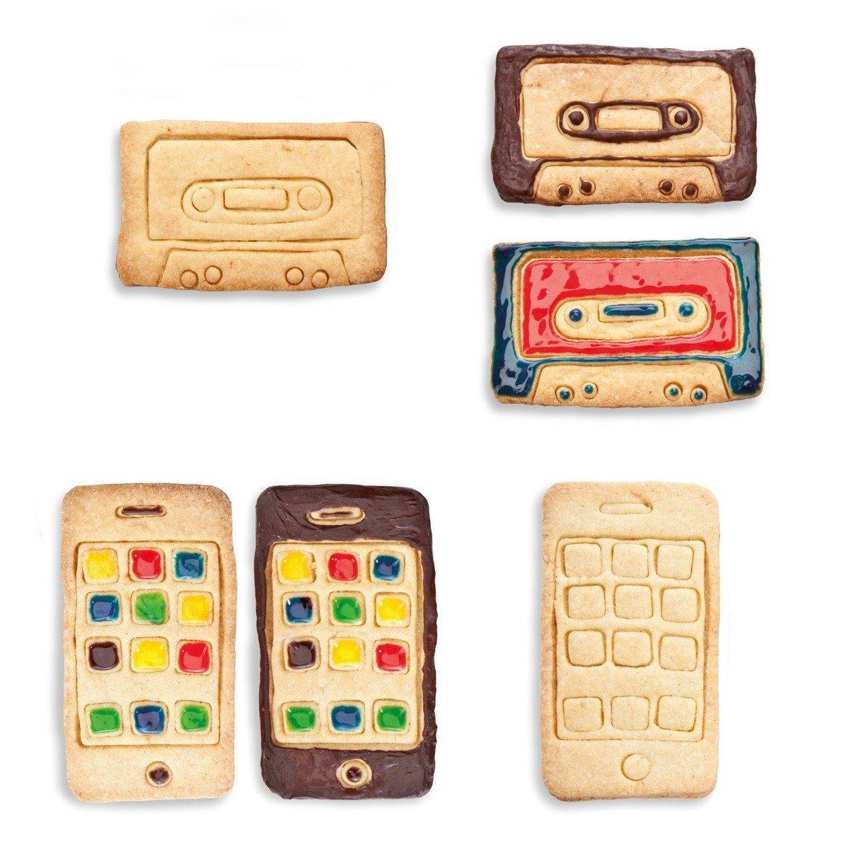Smartphone eller kasettebånd-kageudstikker