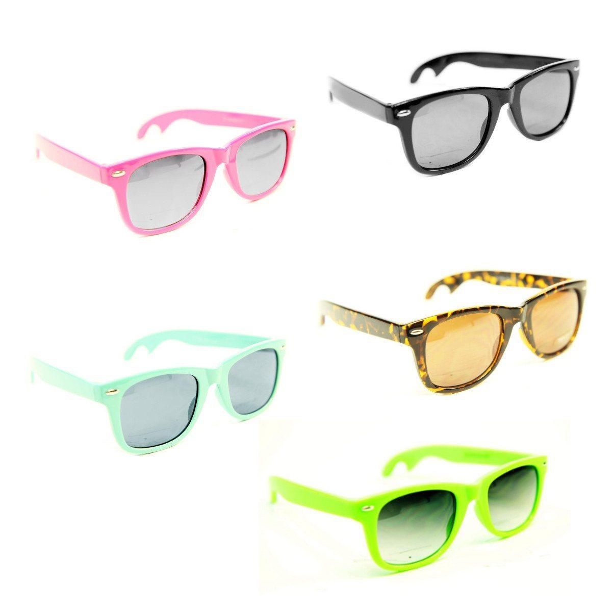 Solbriller med oplukker