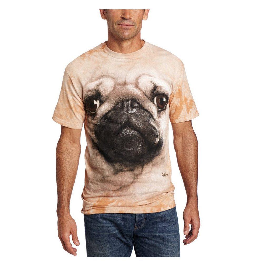 T-shirt med mops-print