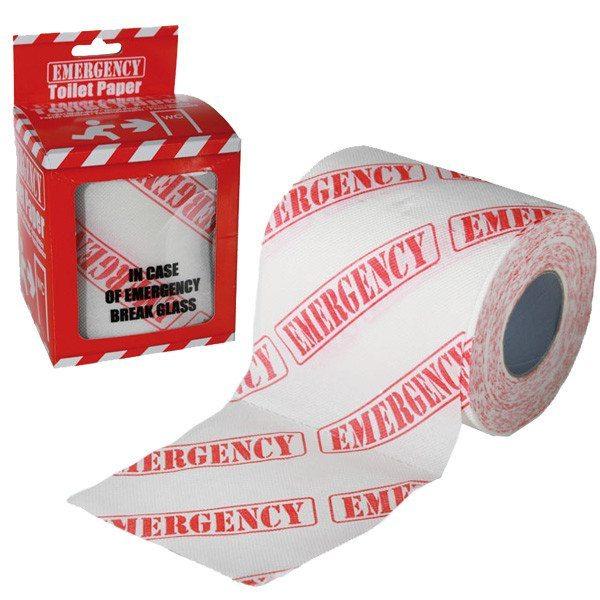Toiletpapir til nødstilfælde