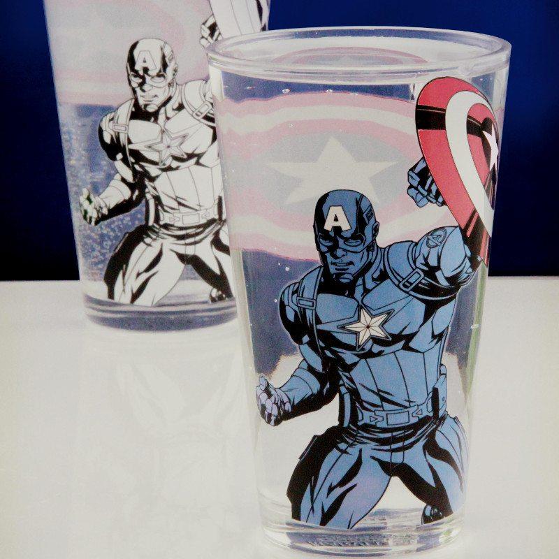 Trylleglas med Captain America
