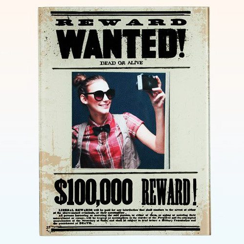 Wanted Dead or Alive - billedramme