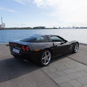 15 minutters kørsel på vej i en Corvette C6 for 1 person - Silkeborg