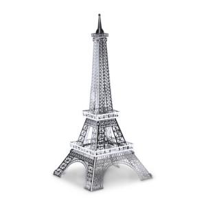 3D-byggesæt i metal: berømte bygninger