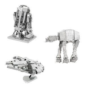 3D-byggesæt i metal: Star Wars