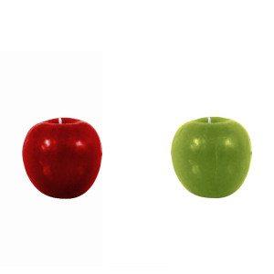 Æble stearinlys