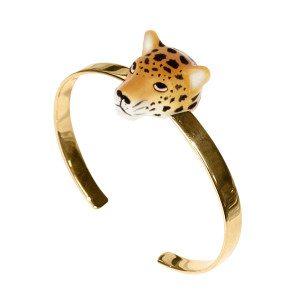Armreif Leopard