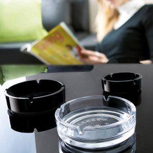 Askebæger i glas med navn