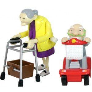 Bedsteforældre med optræk
