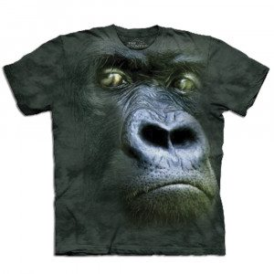 Big Face T-shirt - gorilla