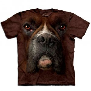 Big Face T-shirt med boxertryk