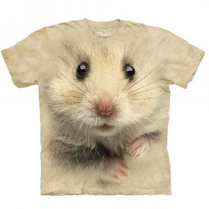 Big Face T-shirt med hamstertryk