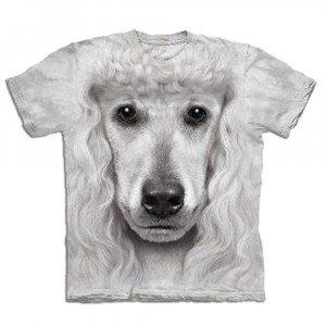 Big Face T-shirt med pudeltryk
